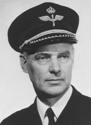 Stig Wennerström på en bild från sin tid som överste. Foto: TT