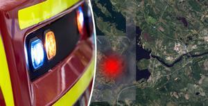 Bilden är ett montage. Bild: Johan Nilsson/TT & Google Maps