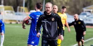 Tobias Eriksson, tränare Fagersta Södra IK.