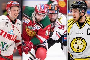 Timrå, Mora, Örebro och Brynäs är fyra av de tolv lag som ser ut att göra SHL-premiär 15 september. Bild: Bildbyrån