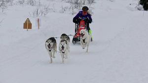 Maja Antoniusson körde hem segern vid säsongspremiären ii norska Hamar.