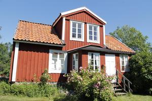 Familjen Melkerssons älskade Snickargården på Saltkråkan, eller Norröra. Arkivbild. Foto: Viktor Hedlund