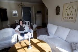 """""""Den känsla och charm som finns i ett gammalt hus går inte att få i ett nytt,"""" säger Venla Börjel."""