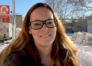 Sara Brännström, 39 år, försäkringstjänsteman, Bydalen