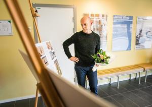 Mats Bigert hoppas att konstverket ska vara på plats om ungefär ett år.