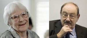 Harper Lee och Umberto Eco.