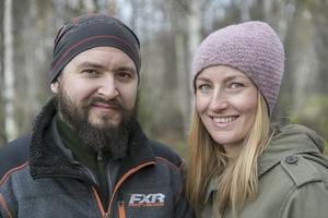 Marcus Ejnebrand och Amanda Stuguby.