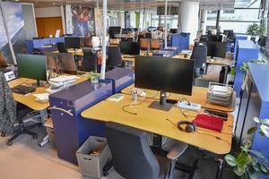 Många företag lämnas åt sitt öde med regeringens stödåtgärder, skriver artikelförfattarna. Foto: Jonas Ekströmer / TT