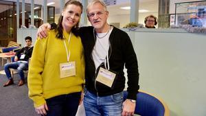 Kristina Linner och Mikael Hedberg är UF-lärare i Sveg.