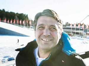 Johan Sares, längdchef på skidförbundet.