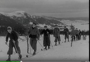 SVT:s Öppet Arkiv har journalfilmen Vykort från påskparadiset. Från 1934 i Åre.