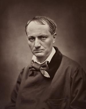 Charles Baudelaire 1863. Foto: Étienne Carjat