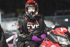 Thea Arnesson – 15-årig supertalang från Jättendal som slutade femma på Vikenbanan. Hon tog SM-silver när stadioncrossen avgjordes i Sundsvall.
