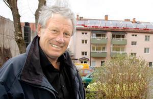 Claes-Håkan Jansson är ordförande i Stämmarsunds ångbåtsbrygga ideell förening.