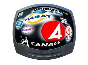 Slår man ihop kostnaderna för alla tv-abonnemang blir de snabbt en stor omkostnad.Bild: Stefan Gustavsson/SvD/TT