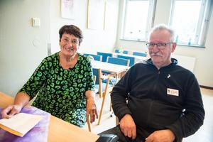 Gull Sundlöf och Jan Skoog har suttit i styrelsen i runt 25 år.
