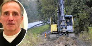 Bredbandssamordnaren Tony Flink tror inte att regeringens bredbandsmål kommer att nås på landsbygden i Dalarna.