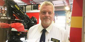 Tommy Jansson, räddningschef i Sala-Heby.