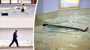 Polisen nationellt prioriterar inte inbrott via tak. Orsaken är att det sker för få liknande inbrott  i Sverige. Bild: Mats Olsson och TT