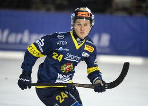 Michael Pettersson stod för tre mål och en assist och var, tillsammans med Mikael Olsson, poängbäst i Falu BS under finalen.