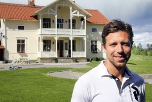 Här har Per Hellmyrs och familjen bott sedan 2010.