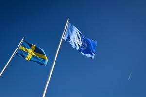 Sverige måste ansluta sig till FN:s konvention mot kärnvapen, skriver debattförfattarna.