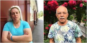 Anette Ekström och Habib Issa – två medlemmar som känner sig lurade av styrelsen.