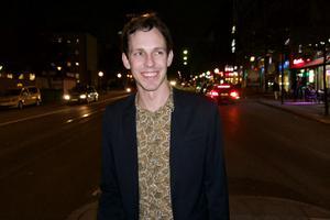 Jonas Strandberg är en av komikerna som kommer till premiären av humorklubben Flabben Comdey.