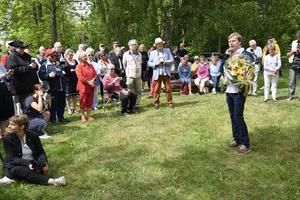 Johan Nilsson/TTJohan Glans tilldelas Piratenpriset i år. I vanlig ordning är det vid det gamla pumphuset i Vollsjö, Fritiof Nilsson Piratens födelseort, som pristagaren tillkännages.