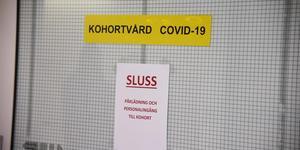 Jämfört med gårdagen har antalet personer som vårdas för covid-19 ökat på länets sjukhus.