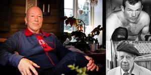 Nils Holmdahl om sina härliga möten med några svenska kultur- och idrottsgiganter... Foto: Jenny Andreasson/TT/montage