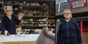 Erja Flatmo har valt att stänga Kälarne Textil och Inredning efter 20 år. – Jag har haft det i tanken under två år, men nu är det dags.