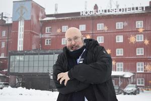Patrik Oksanen, en av Sveriges ledande experter på informationspåverkan och försvars- och säkerhetspolitik.
