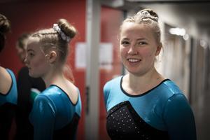 Tilde Svedjesten, 18 år, tävlar för Östersundsgymnasterna.