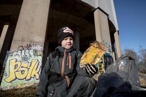 En besviken Jordan Berglund 5 år: