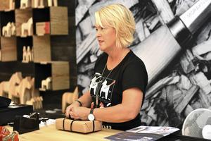 Pia von Seth var med och startade butiken i Mora för två år sedan. Nu öppnar hon ytterligare en butik i Stockholm.