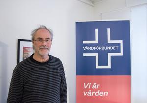 Roger Bergebo, ordförande Vårdförbundet Jämtland.