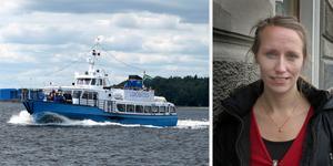 – Om politiken önskar en ny båt behöver arbetet med en ny upphandling komma igång redan i år. Men ekonomin är ju inte på topp just nu, säger Marie Grew, trafikchef på Gävle kommun, som just förlängt nuvarande Limöbåtens kontrakt med två år.