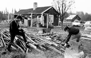 Steve Wood och Danny Thomas hette två av de amerikanska desertörerna som bodde i i Nystilla. Foto: Lennart Pettersson/Arbetarbladet.