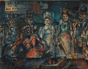 Den franske expressionisten George Rouaults bildkonst inspirerade Pasolini när han skapade sin film