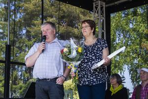 Lars Svedåker och Inger Hedlund arbetar som ungdomsledare i Arbrå skytteförening, som i huvudsak ägnar sig ut luftgevärsskytte.