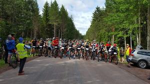 Starten för Orsajkajt´n  förra året. Foto:  Malin Nordin CK Uven.