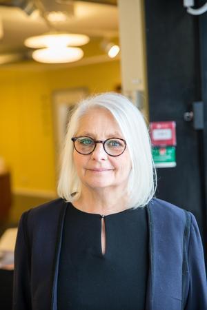 Konsthallens chef Helen Hedensjö tror att Norrtäljeborna kommer att uppskatta Solsnäckan.