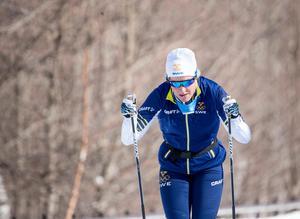 Hanna Falk fick bara ett framträdande i OS.
