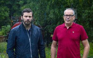 Gabriel Larsson, vd, och Urban Wigren (S), styrelseordförande för Faxeholmen ser fram emot att börja bygga.