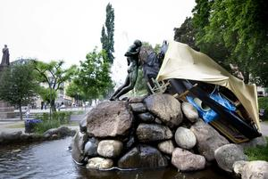 Martin Meles verk på Open Art 2011. Foto: NA arkiv/Kicki Nilsson