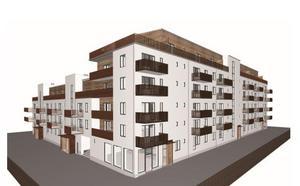 Det nya huset får putsad fasad istället för tegel som det först var sagt. Bild: Werk Arkitekter