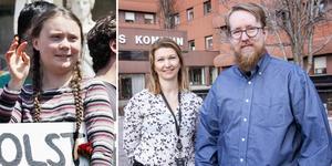 Sundsvalls EU-kontor ligger i ommunhuset. Linda Hallgren är EU-samordnare och Simon Axbrink Jönsson har just nu fokus på det treåriga projektet Europa Direkt.