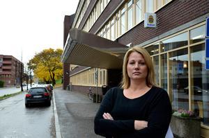 Veronica Andersson, gruppchef på avdelningen för grova brott vid polisen i Västernorrland.