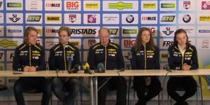 Sebastian Samuelsson, Jesper Nelin, Wolfgang Pichler, Hanna Öberg och Linn Persson.